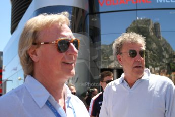 World © Octane Photographic Ltd. F1 Monaco GP, Monte Carlo - Sunday 26th May - Race. Jeremy Clarkson of BBC TV Top Gear. Digital Ref : 0711lw7d9763