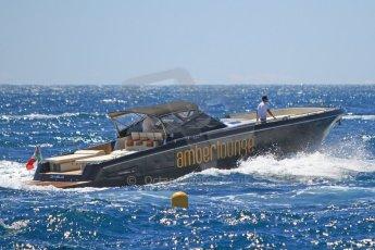 "World © Octane Photographic Ltd. The Amber Lounge's speedboat ""Diablo"". Digital Ref : 07137d3048"