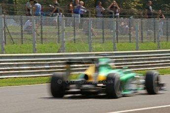 World © Octane Photographic Ltd. F1 Italian GP - Monza, Friday 6th September 2013 - Practice 2. Caterham F1 Team CT03 - Charles Pic. Digital Ref : 0813cb7d5293