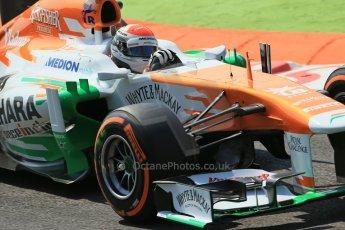 World © Octane Photographic Ltd. F1 Italian GP - Monza, Friday 6th September 2013 - Practice 2. Sahara Force India VJM06 - Adrian Sutil. Digital Ref : 0813lw1d2667