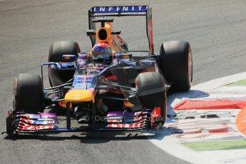 World © Octane Photographic Ltd. F1 Italian GP - Monza, Friday 6th September 2013 - Practice 2. Infiniti Red Bull Racing RB9 - Sebastian Vettel. Digital Ref : 0813lw1d2771