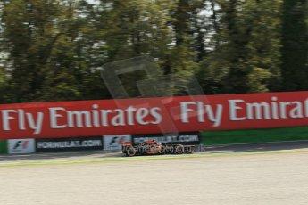 World © Octane Photographic Ltd. F1 Italian GP - Monza, Saturday 7th September 2013 - Practice 3. Lotus F1 Team E21 - Romain Grosjean. Digital Ref :