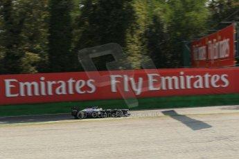 World © Octane Photographic Ltd. F1 Italian GP - Monza, Saturday 7th September 2013 - Practice 3. Williams FW35 - Pastor Maldonado. Digital Ref :