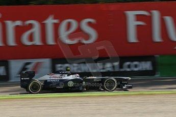 World © Octane Photographic Ltd. F1 Italian GP - Monza, Saturday 7th September 2013 - Practice 3. Williams FW35 - Valtteri Bottas. Digital Ref :