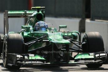 World © Octane Photographic Ltd. F1 Italian GP - Monza, Saturday 7th September 2013 - Qualifying. Caterham F1 Team CT03 - Giedo van der Garde. Digital Ref :