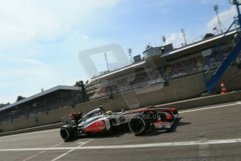 World © Octane Photographic Ltd. F1 Italian GP - Monza, Saturday 7th September 2013 - Qualifying. Vodafone McLaren Mercedes MP4/28 - Sergio Perez. Digital Ref :