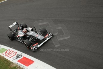 World © Octane Photographic Ltd. F1 Italian GP - Monza, Sunday 8th September 2013 - Race. Sauber C32 - Nico Hulkenberg. Digital Ref :