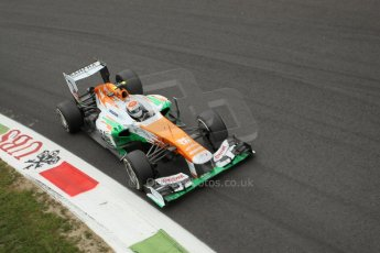World © Octane Photographic Ltd. F1 Italian GP - Monza, Sunday 8th September 2013 - Race. Sahara Force India VJM06 - Adrian Sutil. Digital Ref :