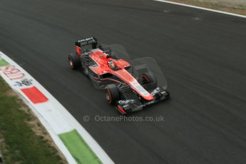 World © Octane Photographic Ltd. F1 Italian GP - Monza, Sunday 8th September 2013 - Race. Marussia F1 Team MR02 - Jules Bianchi. Digital Ref :