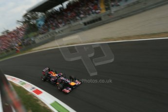 World © Octane Photographic Ltd. F1 Italian GP - Monza, Sunday 8th September 2013 - Race. Infiniti Red Bull Racing RB9 - Sebastian Vettel. Digital Ref :