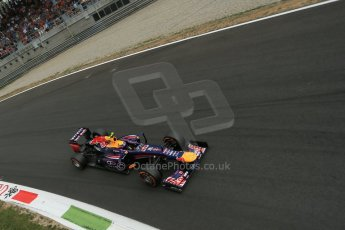 World © Octane Photographic Ltd. F1 Italian GP - Monza, Sunday 8th September 2013 - Race. Infiniti Red Bull Racing RB9 - Mark Webber. Digital Ref :