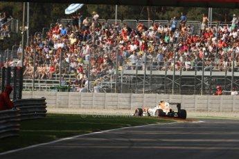 World © Octane Photographic Ltd. F1 Italian GP - Monza, Friday 6th September 2013 - Practice 1. Sahara Force India VJM06 - Paul di Resta. Digital Ref : 0811cb7d5010