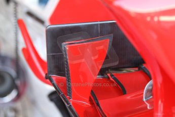 World © Octane Photographic Ltd. F1 Italian GP - Monza, Friday 6th September 2013 - Practice 1. Scuderia Ferrari F138 front wing. Digital Ref : 0811cb7d5077