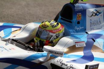 World © Octane Photographic Ltd. GP2 Italian GP, Monza, Friday 6th September 2013. Practice. Rio Haryanto - Barwa Addax Team. Digital Ref : 0812cb7d5188