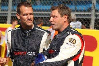 World © Octane Photographic Ltd. GP2 Italian GP, Monza, Saturday 7th September 2013. Race 1. FIA Safety Car Crew. Digital Ref :