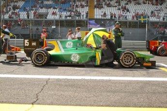 World © Octane Photographic Ltd. GP2 Italian GP, Monza, Saturday 7th September 2013. Race 1. Alexander Rossi on the grid – EQ8 Caterham Racing. Digital Ref :