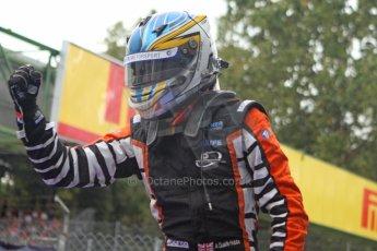 World © Octane Photographic Ltd. GP2 Italian GP, Monza, Sunday 8th September 2013. Race 2. Race Winner Adrian Quaife-Hobbs - Hilmer Motorsport. Digital Ref :