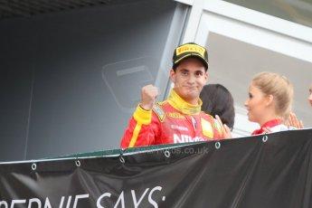 World © Octane Photographic Ltd. GP2 Italian GP, Monza, Sunday 8th September 2013. Race 2. Julián Leal - Racing Engineering. Digital Ref: