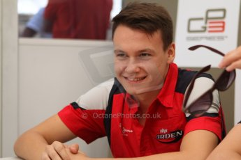 World © Octane Photographic Ltd. GP3 Italian GP - Qualifying, Monza, Saturday 7th September 2013. Dallara GP3/13. MW Arden – Robert Visolu (2nd). Digital ref : 0816cb7d5753