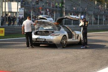 World © Octane Photographic Ltd. GP3 Italian GP - Race 1, Monza, Saturday 7th September 2013 - F1/GP2/GP3 Mercedes AMG SLS Safety ca. Digital ref :