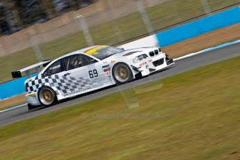 World © Octane Photographic Ltd./Chris Enion. Britcar MSA British Endurance Championship – Donington Park, Saturday 13th April 2013, Qualifying. Tom Webb/James Webb – BMW M3 GTR – Team Webb. Digital ref : 0631ce1d0935