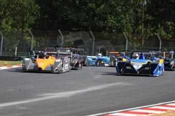 World © Carl Jones/Octane Photographic Ltd. Sunday 4th August 2013. OSS - Brands Hatch - Race 3. The Start. Digital Ref : 0774cj7d0019