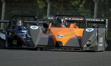 World © Carl Jones/Octane Photographic Ltd. Sunday 4th August 2013. OSS - Brands Hatch - Race 3. Doug Hart - Chiron / Hart 2012. Digital Ref : 0774cj7d0050