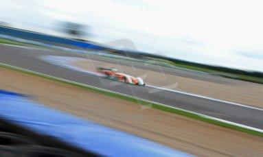 World © Octane Photographic Ltd. BRSCC - OSS Championship. Saturday 14th September 2013. Donington Park. Saturday 14th September 2013 – Qualifying. Jonathan Hair – Mallock Beagle Mk36 DD. Digital Ref: 0826cj1d0151