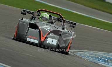 World © Octane Photographic Ltd. BRSCC - OSS Championship. Sunday 15th September 2013. Donington Park. Sunday 15th September 2013 – Race 2. Darcy Smith – Radical SR4. Digital Ref: 0828cj1d7617
