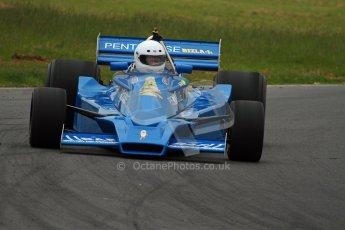 World © Octane Photographic Ltd/ Carl Jones. OSS F1 Demos. Snetterton. Hesketh 308E. Digital Ref: 0719cj7d0191