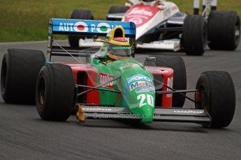 World © Octane Photographic Ltd/ Carl Jones. OSS F1 Demos. Snetterton. Benetton B190. Digital Ref: 0719cj7d0213
