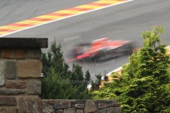 World © Octane Photographic Ltd. Belgian GP Friday 23rd August 2013 F1 Practice 1. Marussia F1 Team MR02 - Jules Bianchi. Digital Ref : 0784cb7d1829