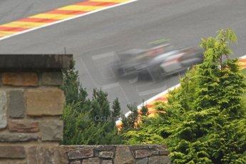 World © Octane Photographic Ltd. Belgian GP Friday 23rd August 2013 F1 Practice 1. Sauber C32 - Esteban Gutierrez. Digital Ref : 0784cb7d1853