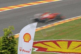 World © Octane Photographic Ltd. Belgian GP Friday 23rd August 2013 F1 Practice 1. Scuderia Ferrari F138 - Felipe Massa. Digital Ref : 0784cb7d1860