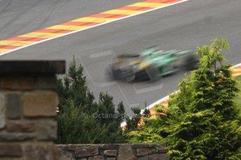 World © Octane Photographic Ltd. Belgian GP Friday 23rd August 2013 F1 Practice 1. Caterham F1 Team CT03 - Heikki Kovalainen. Digital Ref : 0784cb7d1883