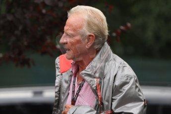 World © Octane Photographic Ltd. Belgian GP Friday 23rd August 2013 paddock. John Button, father of Jenson Button. Digital Ref : 0783cb7d1687