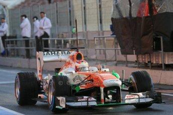 World © Octane Photographic Ltd. Formula 1 Winter testing, Barcelona – Circuit de Catalunya, 28th February 2013. Sahara Force India VJM06 – Paul di Resta. Digital Ref: 0581lw1d6792
