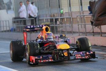 World © Octane Photographic Ltd. Formula 1 Winter testing, Barcelona – Circuit de Catalunya, 28th February 2013. Infiniti Red Bull Racing RB9. Mark Webber. Digital Ref: 0581lw1d6838