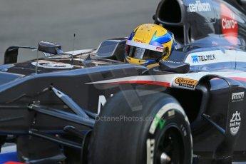 World © Octane Photographic Ltd. Formula 1 Winter testing, Barcelona – Circuit de Catalunya, 2nd March 2013. Sauber C32, Esteban Gutierrez. Digital Ref: 0583lw1d8930
