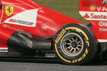 World © Octane Photographic Ltd. Formula 1 Winter testing, Barcelona – Circuit de Catalunya, 2nd March 2013. Ferrari F138 – Felipe Massa. Digital Ref: 0583lw1d9712