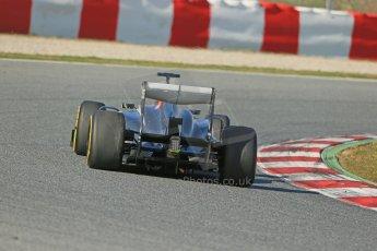 World © Octane Photographic Ltd. Formula 1 Winter testing, Barcelona – Circuit de Catalunya, 2nd March 2013. Sauber C32, Esteban Gutierrez. Digital Ref: 0583lw1d9757