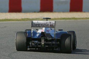 World © Octane Photographic Ltd. Formula 1 Winter testing, Barcelona – Circuit de Catalunya, 2nd March 2013., afternoon session Williams FW35, Valtteri Bottas. Digital Ref: 0583lw1d9946