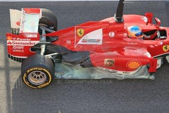 World © Octane Photographic Ltd. Formula 1 Winter testing, Barcelona – Circuit de Catalunya, 3rd March 2013. Ferrari F138 – Fernando Alonso. Digital Ref: 0584lw1d0135