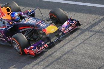 World © Octane Photographic Ltd. Formula 1 Winter testing, Barcelona – Circuit de Catalunya, 3rd March 2013. Infiniti Red Bull Racing RB9. Sebastian Vettel. Digital Ref: 0584lw1d0368