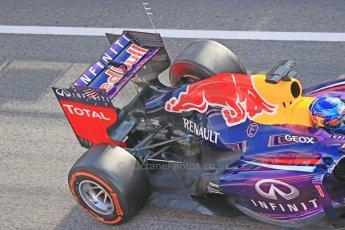 World © Octane Photographic Ltd. Formula 1 Winter testing, Barcelona – Circuit de Catalunya, 3rd March 2013. Infiniti Red Bull Racing RB9. Sebastian Vettel. Digital Ref: 0584lw1d0377