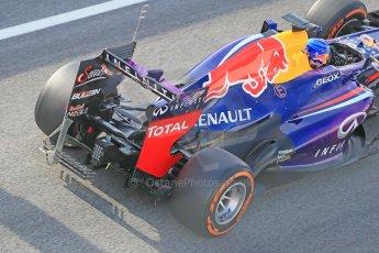 World © Octane Photographic Ltd. Formula 1 Winter testing, Barcelona – Circuit de Catalunya, 3rd March 2013. Infiniti Red Bull Racing RB9. Sebastian Vettel. Digital Ref: 0584lw1d0384