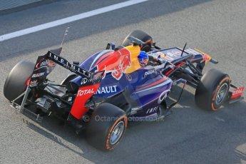 World © Octane Photographic Ltd. Formula 1 Winter testing, Barcelona – Circuit de Catalunya, 3rd March 2013. Infiniti Red Bull Racing RB9. Sebastian Vettel. Digital Ref: 0584lw1d0388