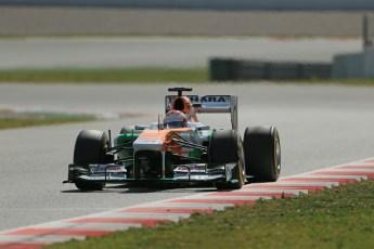 World © Octane Photographic Ltd. Formula 1 Winter testing, Barcelona – Circuit de Catalunya, 3rd March 2013. Sahara Force India VJM06 – Paul di Resta. Digital Ref: 0584lw1d0736