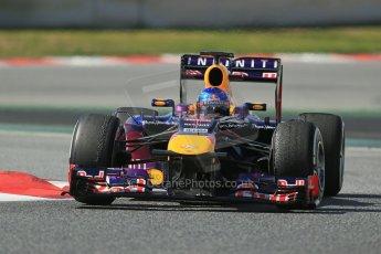 World © Octane Photographic Ltd. Formula 1 Winter testing, Barcelona – Circuit de Catalunya, 3rd March 2013. Infiniti Red Bull Racing RB9. Sebastian Vettel. Digital Ref: 0584lw1d1128