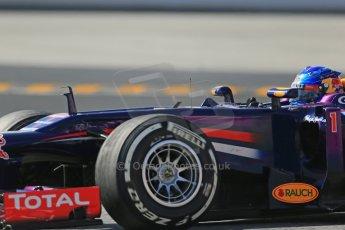 World © Octane Photographic Ltd. Formula 1 Winter testing, Barcelona – Circuit de Catalunya, 3rd March 2013. Infiniti Red Bull Racing RB9. Sebastian Vettel. Digital Ref: 0584lw1d1223
